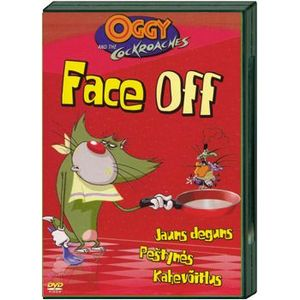 Oggy and the cockroacnes Face off  DVD