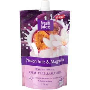 "Гель для душа ""Passion fruit & Magnolia"".  170 мл"