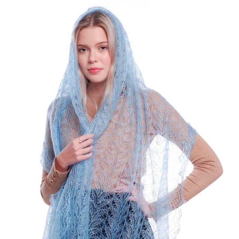 как стирать оренбургский платок паутинка
