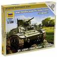 """:  - Сборная модель. Американский лёгкий танк """"Стюарт"""" (6265)"""